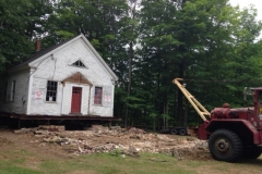 1_2019-07-17-Schoolhouse-moved-back-off-foundation.-Joyce-Alden-Joyce-Alden-IMG_2257