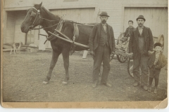 Horse-and-Cart-with-William-Bowley-Mr.-Humphrey-Children-Donald-S-Bradford-Collection-NA