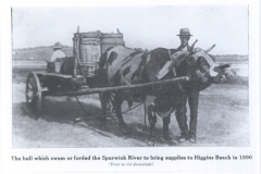 Higgins Beach - Bull & Cart - 1890 - 95.27.131