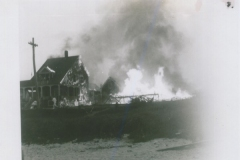 Higgins Beach - Fire on Bay View Ave, Higgins Beach, - 1940s - 95.27.141