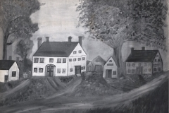 Dunstan - Drawing of house (4 chimneys) - 89.9.x
