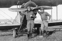 Pioneer Aviator Merle Foff and Stuntman George Sparks