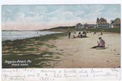 Higgins Beach - Beach Scene - Higgins Beach, Me. (P-M 1905) - 87.3.01