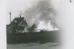 Higgins Beach - Fire on Bay View Ave, Higgins Beach, - 1940s - 95.27.141