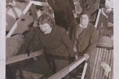 Organizations-WW2-Ground-Observers-Posts-WWII-Ground-Observers-climbing-stairs-90.45.1c