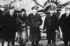 Amelia Earhart (3rd from left)